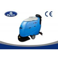 Great Brush Pressure Walk Behind Floor Scrubber Machine With 500W Traction Motor Manufactures