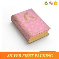 Silver First custom hard cover full color book printing paper packaging box Manufactures