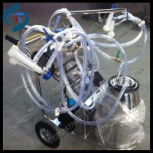 China lower price vacuum pump milking machine on sale