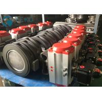 Penumatic Actuator Two Offset High Temp Wafer Lug Type Butterfly Valve Manufactures