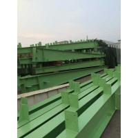 Customized Green H Section Painting Structural Steel I Beam U Channel-Workshop Manufactures