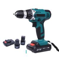 China Durable Power Tools Cordless Drill 21V / 12V / 18V Lithium Battery Operated on sale