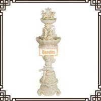 Outdoor artifcial stone water fountain for home and garden decoration W144S+842S Manufactures