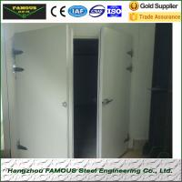 pu insulated hinged doors cold storage room Manufactures