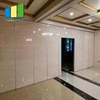 Fabric Folding Movable Partition Office Sliding Partition Walls For Hotel Manufactures