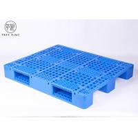 Yellow Rackable HDPE Plastic Pallets With 9000 Lbs Capacity P1210 Recycling Manufactures