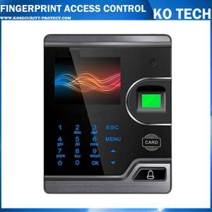 KO-F181 RFID& fingerprint access control with video intercom Manufactures