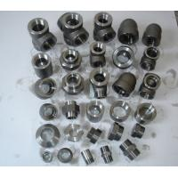 "Stainless Steel Forged Fittings Nickel Alloy Carbon Steel forged fitting NPT 1"" 3000# A182 / A105 B16.11 Manufactures"