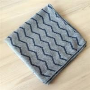 40x40cm Microfiber Weave Style Jacquard Pearl Cloth Auto Detailing Towel