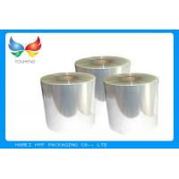 One Side Coated BOPP Self Adhesive Clear Plastic Film 18 ~ 50 Mic Thickness Manufactures
