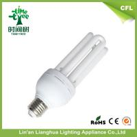 18W T4 12mm Super Compact U Shaped Fluorescent Light Bulbs With 8000H Manufactures