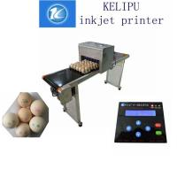 Electric High Output Egg Inkjet Marking Machine With 1 - 4 Printing Lines Manufactures