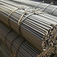 Quality Hot Rolled Screw Threaded Deformed Steel Bars For Building Construction , Length 9m / 12m for sale
