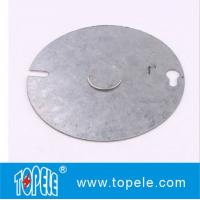 Round Gang Electrical Boxes And Covers Weatherproof Flat Use To Attach Switches Manufactures