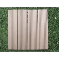 Anti UV Artifical Turf Wood Plastic Composite Flooring for Garden and Park Manufactures