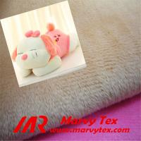 1-5mm pile microfiber super soft velboa fabric for soft toy Manufactures