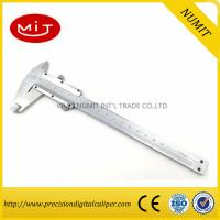 Buy cheap Stainless steel vernier caliper for sale,150 mm measurement tool,manual caliper from wholesalers