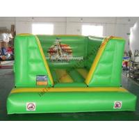 Green Inflatable Castle Bouncer , Advertising Bouncy Castle Manufactures
