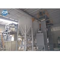 Automatic dry mortar production line with packing machine and bag pushing system Manufactures