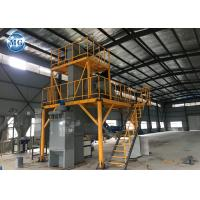 Industrial Semi Automatic Dry Mix Plant 8 - 10m3/H Capacity 24 Months Warranty Manufactures