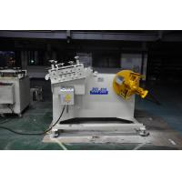 2 in 1 Steel Plate coil Decoiling And Straightening Machine For Press Machine Manufactures
