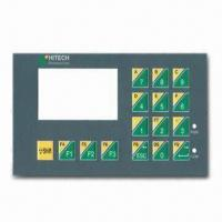 Membrane Graphic Overlay for Control Panels with 0.05 to 1.0mm Thickness Manufactures