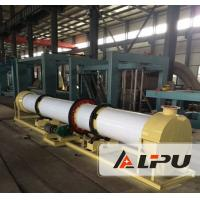 Organic Fertilizer Drying Production Line For Poultry Manure / Straw Agricultural Wastes Manufactures