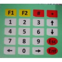 China PC / PET Membrane Switch Keypad With 3M Adhesive , High Sensivity on sale