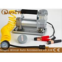 Metal Auto Tyre Inflator Tool 150psi Max Pressure Electronic small portable air compressor Pump Manufactures