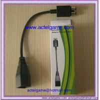 Quality Xbox360 slim power transfer cable xbox360 game accessory for sale