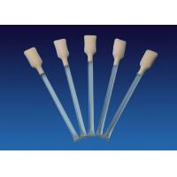 5.0'' Foam Tip Cleaning Swabs , Pre Saturated Printhead Cleaning Swabs Manufactures