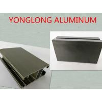 6061 / 6063 T3 - T8 Anodized Aluminum Profiles , Aluminum Window Screen Frame Manufactures