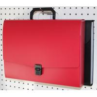 China PP Expanding File Folders With Pockets Handle Decorative File Folder on sale