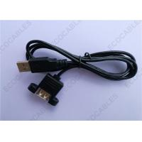 China Black UL2725 A/M To A/F USB Extension Cable For Signal 1000MM Length on sale