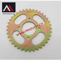 motorcycle spare parts motorcycle sprocket 420-37T zink plated Manufactures