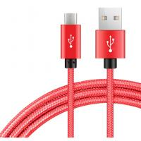 China 1m 2m 3m Usb To Micro Usb Charging Cable Copper Nylon Braided Type C Technology on sale