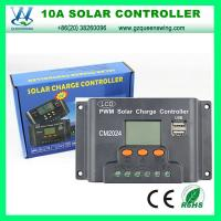 China LCD 12V/24V 10A Solar Charge Regulator with USB (QWP-1410USBB) on sale