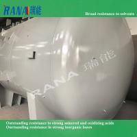 Professional Factory directly sale 50 cubic steel lining PTFE/ PFA/ ETFE chemical storage tank and vessel Manufactures