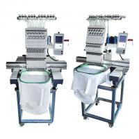 China Flat Commercial Hat Embroidery Machine Single Head Computer Embroidery Machine on sale