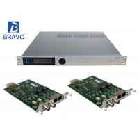 China Multichannel H264 / H265 SD HD Encoder , SD Offline HD Channel Modulator on sale