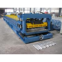 Cr12 Mould Steel Cutter Roof Tile Roll Forming Machine 5.5KW ISO9001 with high production speed Manufactures