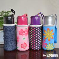 China neoprene Cool Thermo Insulated Water Bottle Holder Bag with handle for 500Ml , 350ML on sale