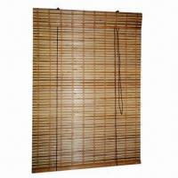 Bamboo Blinds/Curtains with Rolling/Roman Style and DIY Accessories, Easy-to-install
