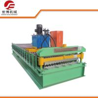 Buy cheap Full Automatic Control Corrugated Sheet Roll Forming Machine With 6m Length from wholesalers