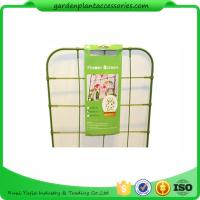 Small Metal Green Garden Plant Trellis / Climbing Plant Support Manufactures