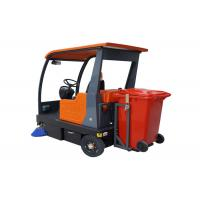 Electric Broom Ride On Floor Sweeper Machine Battery Operated Full Automatic Manufactures