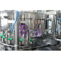 PET / Tin Can Carbonated Drink Filling Machine , Full Automatic Filling Capping Machine Manufactures