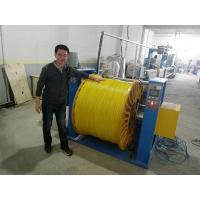 Electrical House Wire And Cable Machinery For PVC , PE Plastic Insulation Sheath