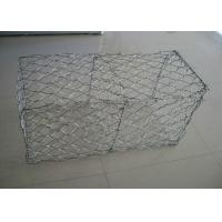 Gabion Basket Galvanized Gabion Box Retaining Wall With 2.7mm 3.05mm Wire Anti - Crossion 2m * 1m * 1m Manufactures