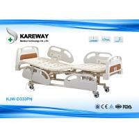 Three Functions Electric Care Hospital Bed With Plastic Base In X-Ray Room Manufactures